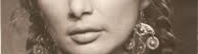 Imatge d'una dona gitana.