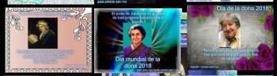 Celebració del Dia de les Dones al Punt Òmnia Casal Sant Roc de Badalona