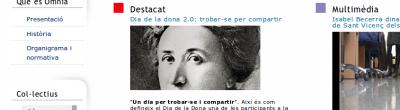 Captura de la portada del col·lectiu gènere