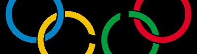 Logotip amb les anelles olímpiques