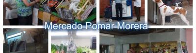 Mosaic de fotos Mercat Pomar Morera