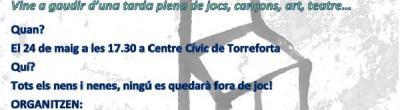 Cartell de la Marató a Torreforta