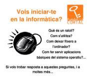 cartell iniciació informàtica òmnia tria
