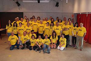 Foto de grup del projecte avi.net